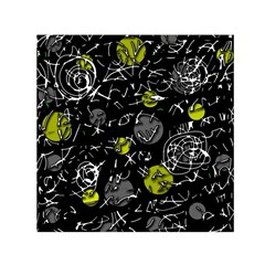 Yellow mind Small Satin Scarf (Square)