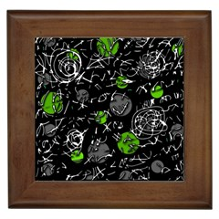 Green mind Framed Tiles