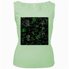Green mind Women s Green Tank Top