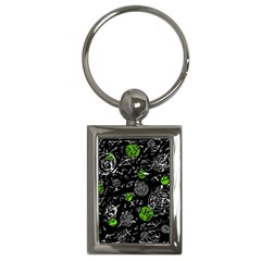 Green mind Key Chains (Rectangle)