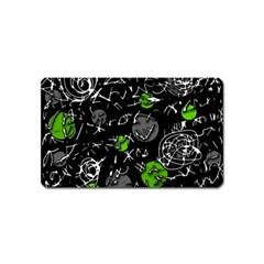 Green mind Magnet (Name Card)