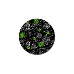 Green mind Golf Ball Marker (4 pack)