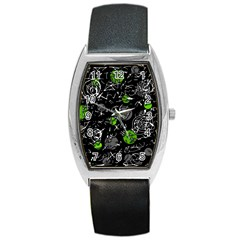 Green mind Barrel Style Metal Watch