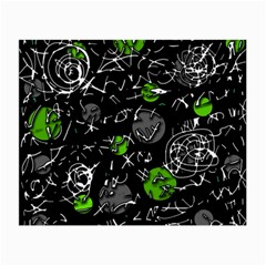 Green mind Small Glasses Cloth (2-Side)