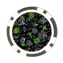 Green mind Poker Chip Card Guards