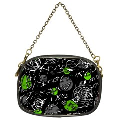 Green mind Chain Purses (One Side)