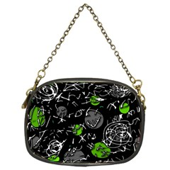 Green mind Chain Purses (Two Sides)
