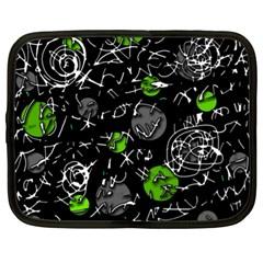 Green mind Netbook Case (XL)