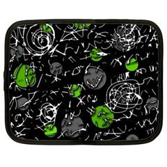 Green mind Netbook Case (XXL)