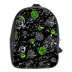 Green mind School Bags(Large)