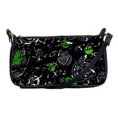 Green mind Shoulder Clutch Bags