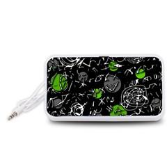 Green mind Portable Speaker (White)