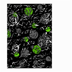 Green mind Small Garden Flag (Two Sides)