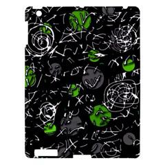 Green mind Apple iPad 3/4 Hardshell Case