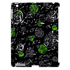 Green mind Apple iPad 3/4 Hardshell Case (Compatible with Smart Cover)