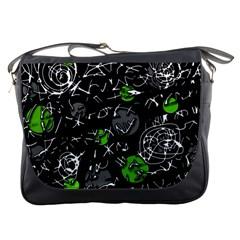 Green mind Messenger Bags