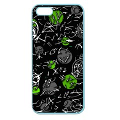 Green mind Apple Seamless iPhone 5 Case (Color)