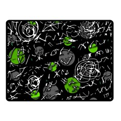 Green Mind Double Sided Fleece Blanket (small)