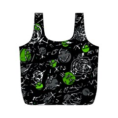 Green mind Full Print Recycle Bags (M)