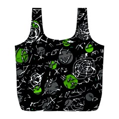 Green mind Full Print Recycle Bags (L)