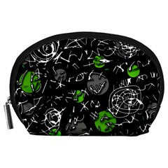 Green mind Accessory Pouches (Large)