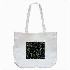 Green mind Tote Bag (White)