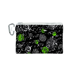 Green mind Canvas Cosmetic Bag (S)