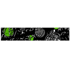 Green mind Flano Scarf (Large)