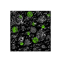 Green mind Satin Bandana Scarf