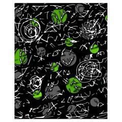 Green mind Drawstring Bag (Small)