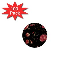 Elegant mind 1  Mini Buttons (100 pack)