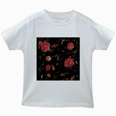 Elegant mind Kids White T-Shirts