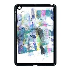 Background Color Circle Pattern Apple iPad Mini Case (Black)