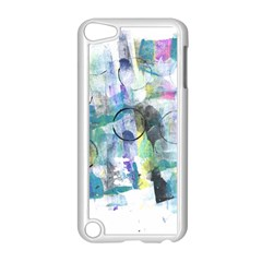 Background Color Circle Pattern Apple iPod Touch 5 Case (White)