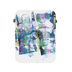 Background Color Circle Pattern Apple iPad 2/3/4 Protective Soft Cases
