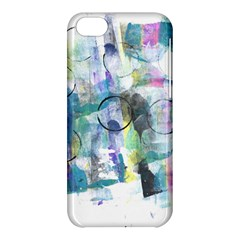 Background Color Circle Pattern Apple iPhone 5C Hardshell Case