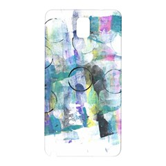 Background Color Circle Pattern Samsung Galaxy Note 3 N9005 Hardshell Back Case