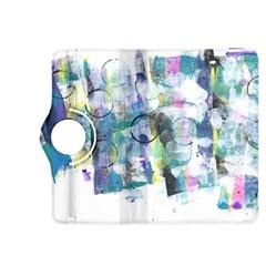 Background Color Circle Pattern Kindle Fire HDX 8.9  Flip 360 Case