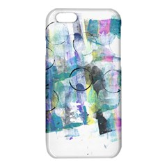 Background Color Circle Pattern iPhone 6/6S TPU Case