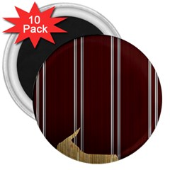 Background Texture Distress 3  Magnets (10 pack)