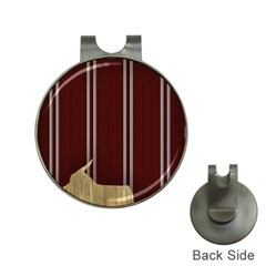 Background Texture Distress Hat Clips with Golf Markers