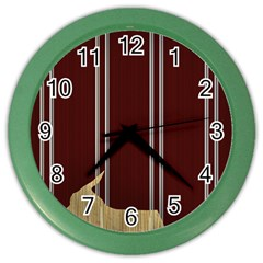 Background Texture Distress Color Wall Clocks
