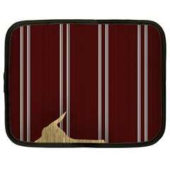 Background Texture Distress Netbook Case (Large)