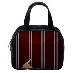 Background Texture Distress Classic Handbags (One Side)