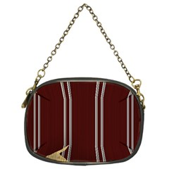 Background Texture Distress Chain Purses (Two Sides)