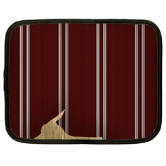 Background Texture Distress Netbook Case (XXL)