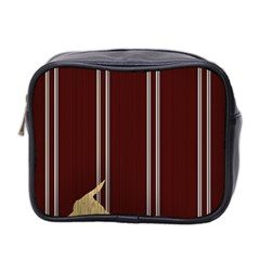 Background Texture Distress Mini Toiletries Bag 2-Side