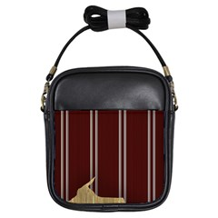 Background Texture Distress Girls Sling Bags