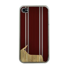 Background Texture Distress Apple iPhone 4 Case (Clear)