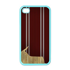 Background Texture Distress Apple iPhone 4 Case (Color)